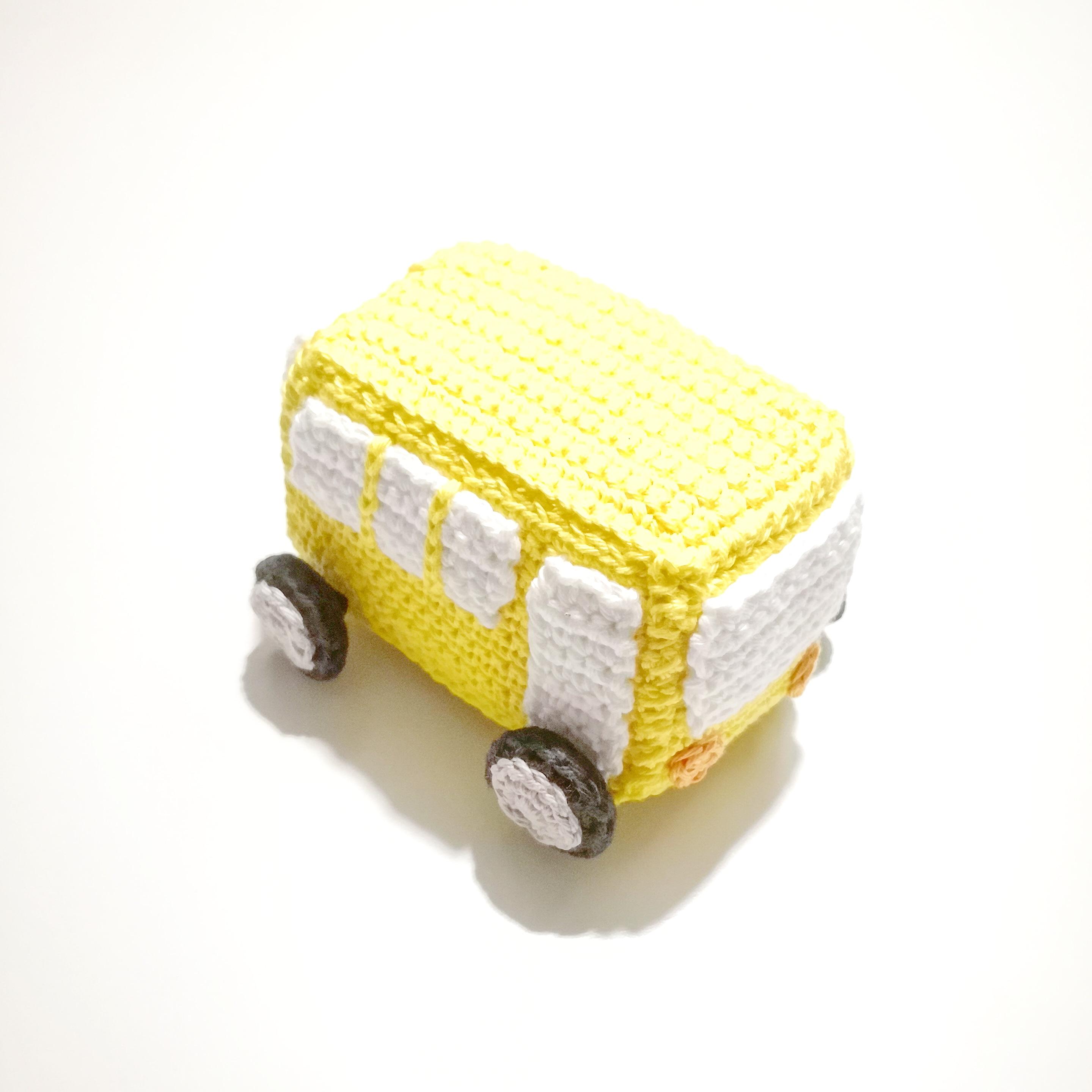 DIY Hæklet minibus