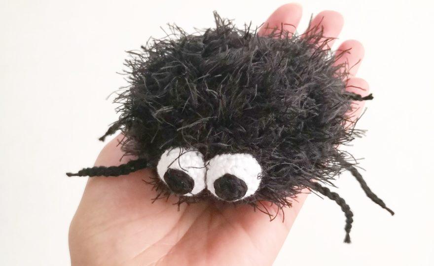 DIY Hæklet edderkop