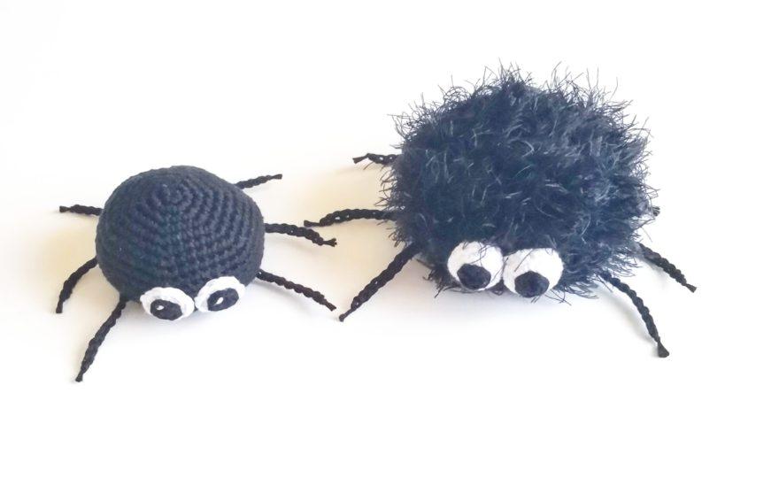 DIY Hæklet edderkop (lille)