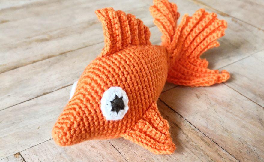 DIY Hæklet guldfisk